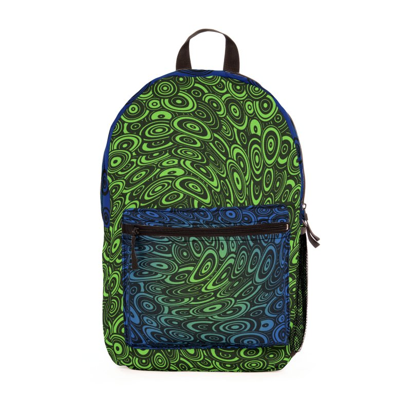 Melting Moving Target Backpack Accessories Bag by Mightywombat's Artist Shop