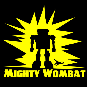 Mightywombat's Artist Shop Logo