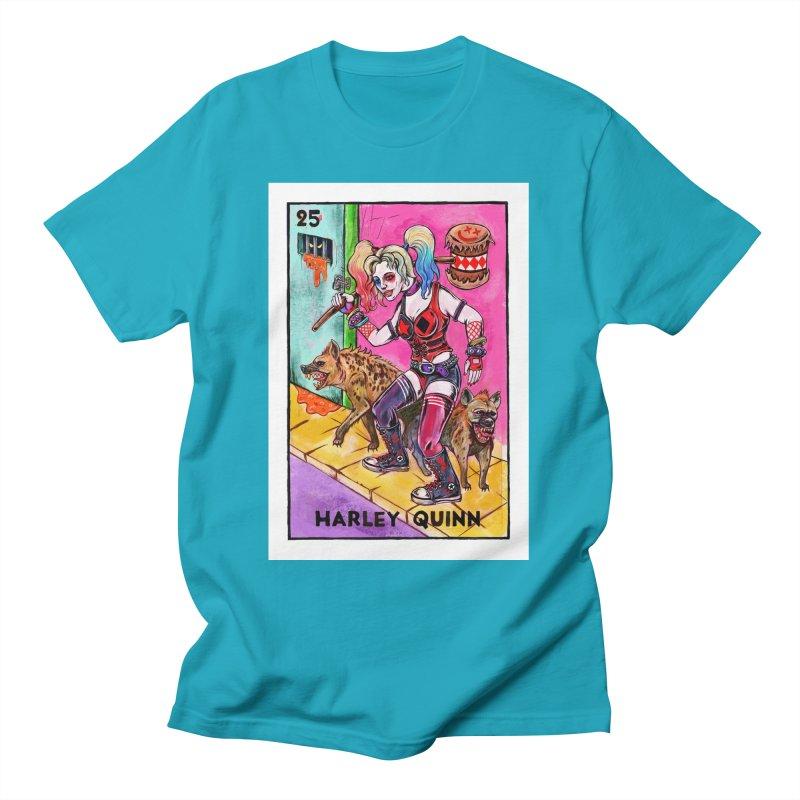 Harley Quinn Men's T-Shirt by Miguel Valenzuela