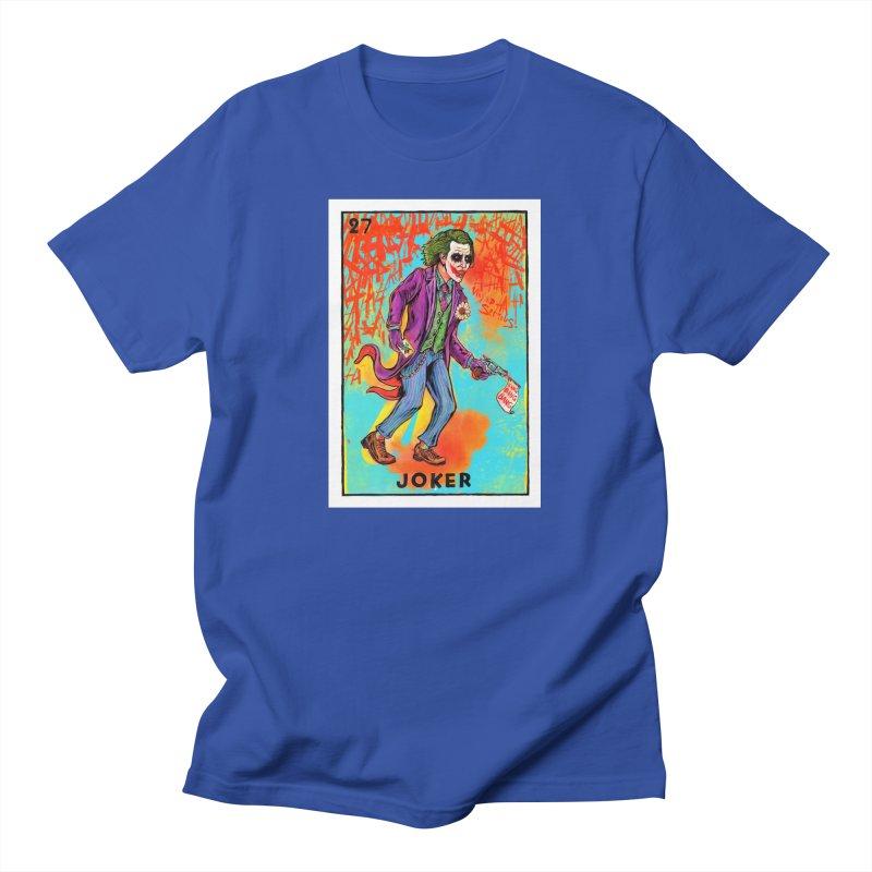 The Joker - Dark Knight Men's T-Shirt by Miguel Valenzuela