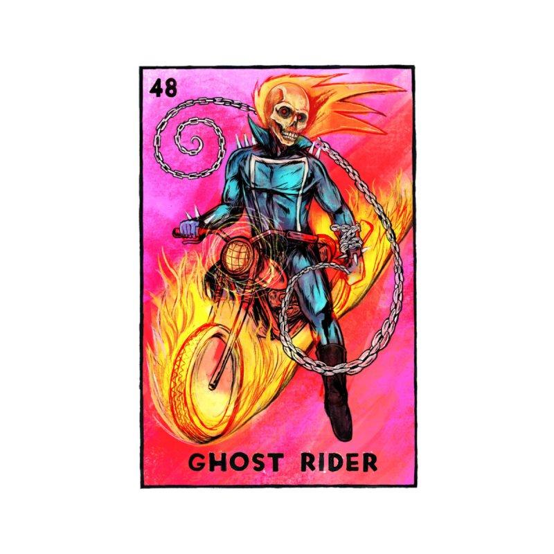 Ghost Rider Men's T-Shirt by Miguel Valenzuela