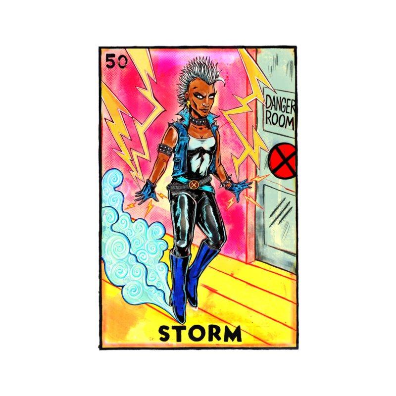 Storm Men's T-Shirt by Miguel Valenzuela