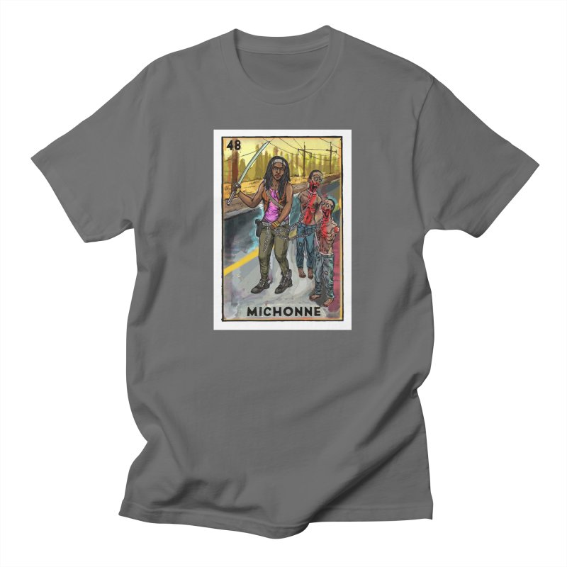 Michonne Men's T-Shirt by Miguel Valenzuela
