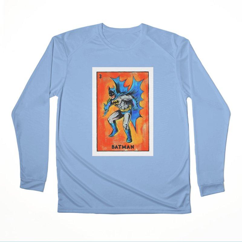 Batman Women's Longsleeve T-Shirt by Miguel Valenzuela