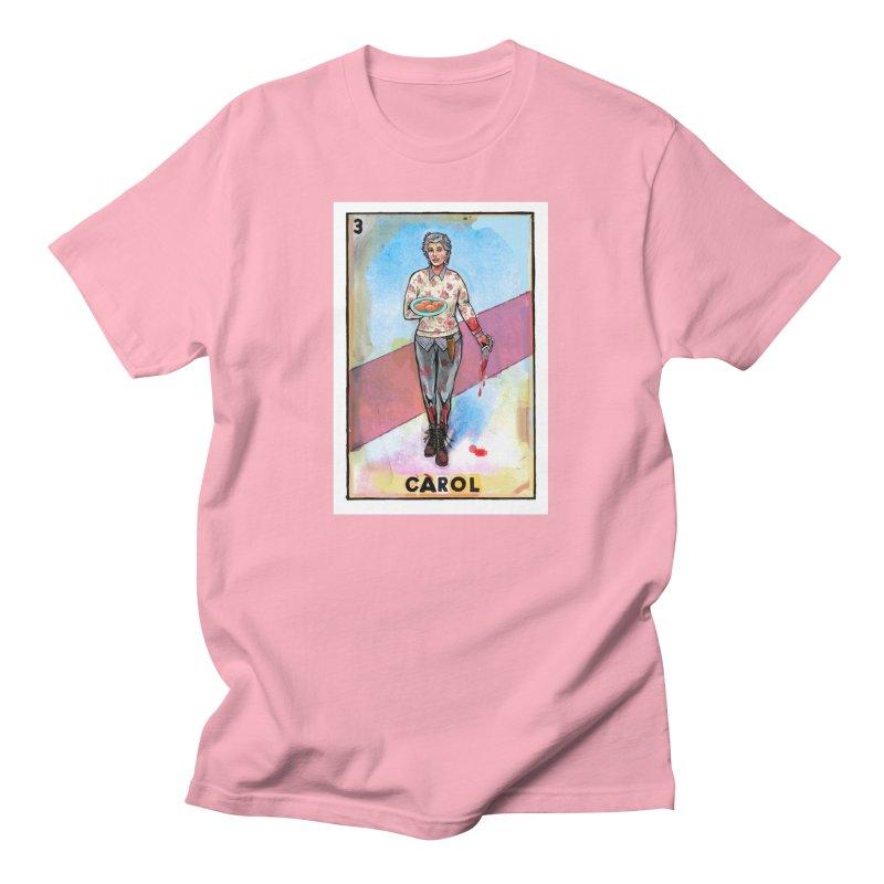 Carol Men's T-Shirt by Miguel Valenzuela