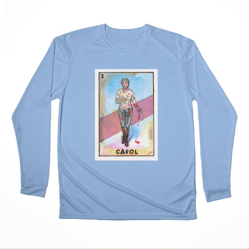 Carol Women's Longsleeve T-Shirt by Miguel Valenzuela