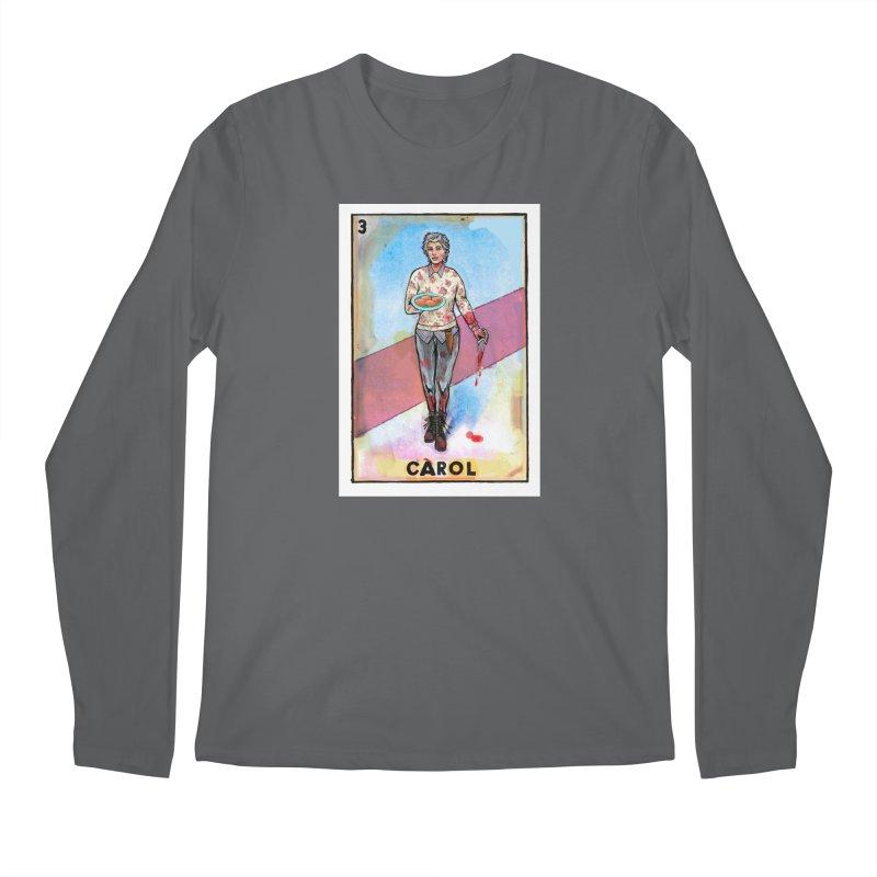 Carol Men's Longsleeve T-Shirt by Miguel Valenzuela