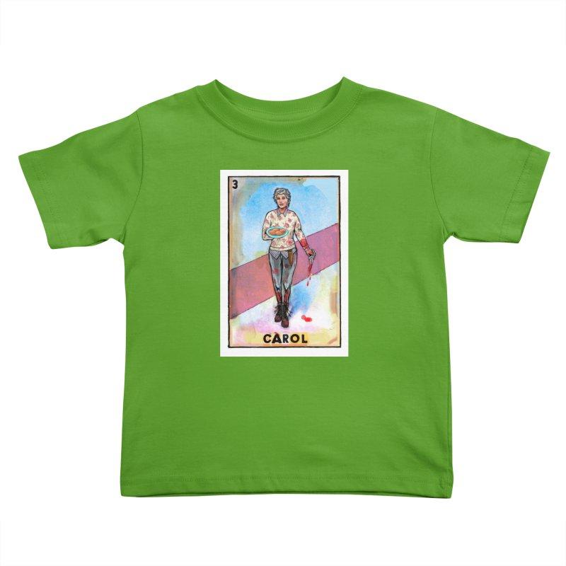 Carol Kids Toddler T-Shirt by Miguel Valenzuela