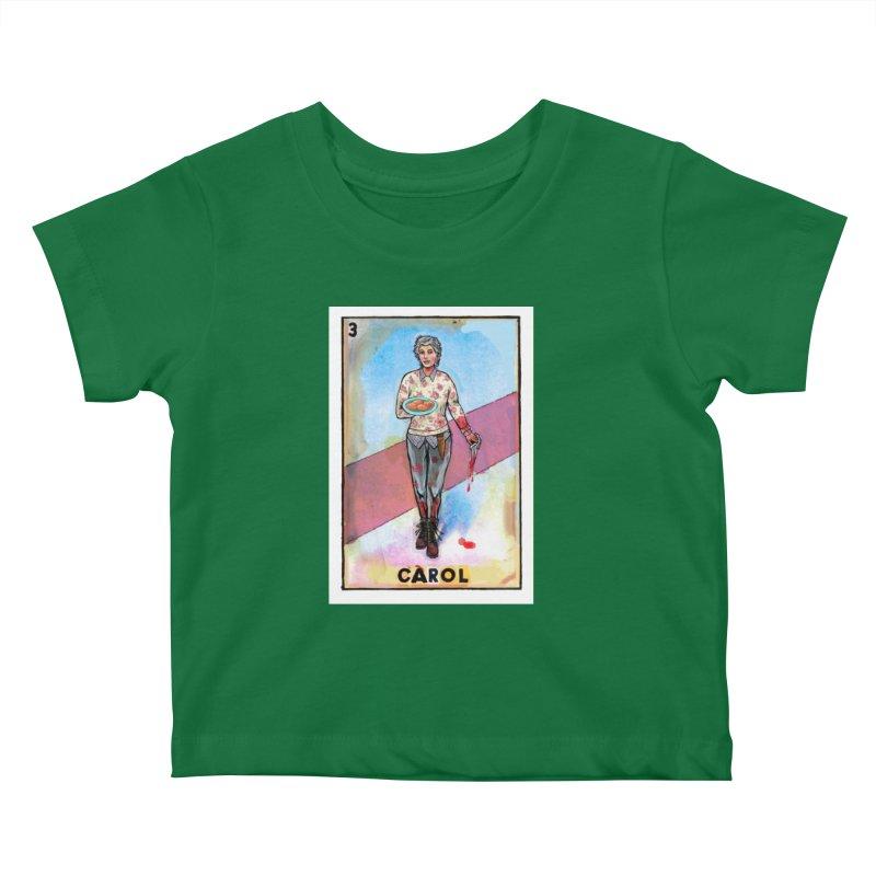 Carol Kids Baby T-Shirt by Miguel Valenzuela