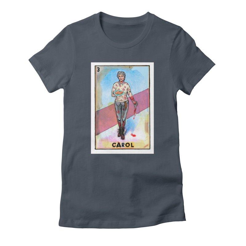 Carol Women's T-Shirt by Miguel Valenzuela