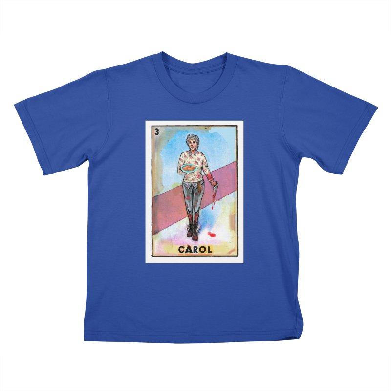 Carol Kids T-Shirt by Miguel Valenzuela