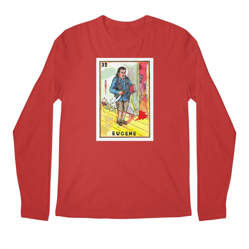 Eugene Men's Longsleeve T-Shirt by Miguel Valenzuela