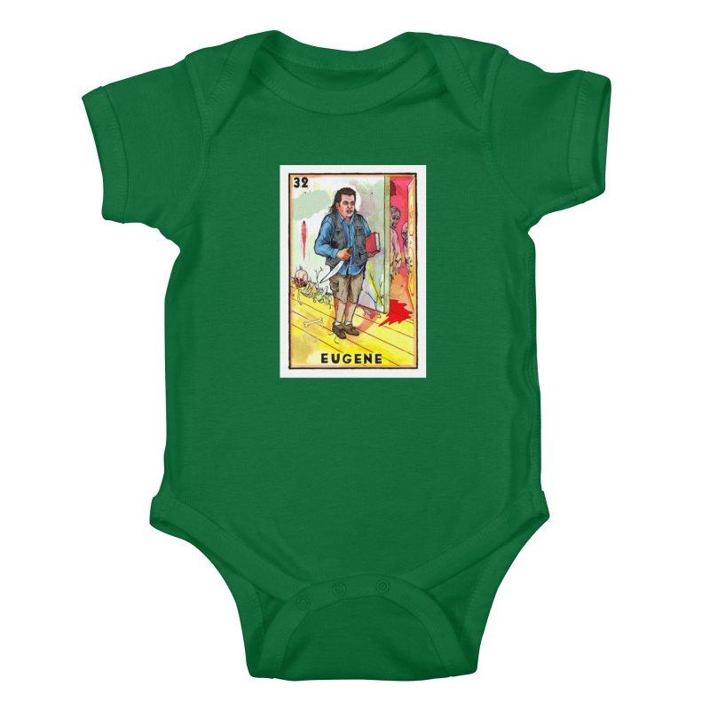 Eugene Kids Baby Bodysuit by Miguel Valenzuela