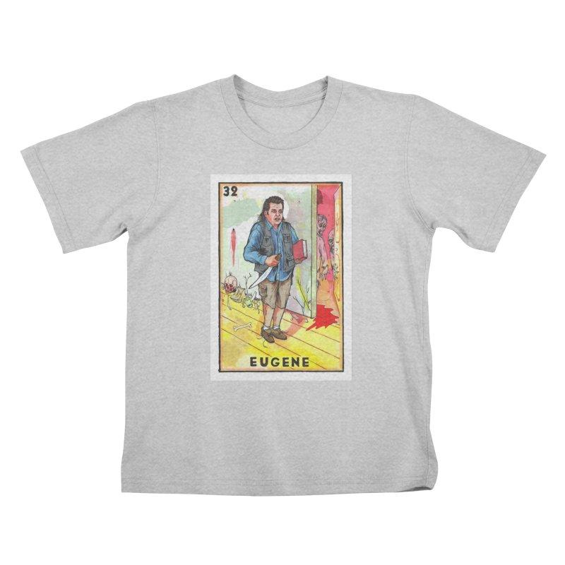 Eugene Kids T-Shirt by Miguel Valenzuela