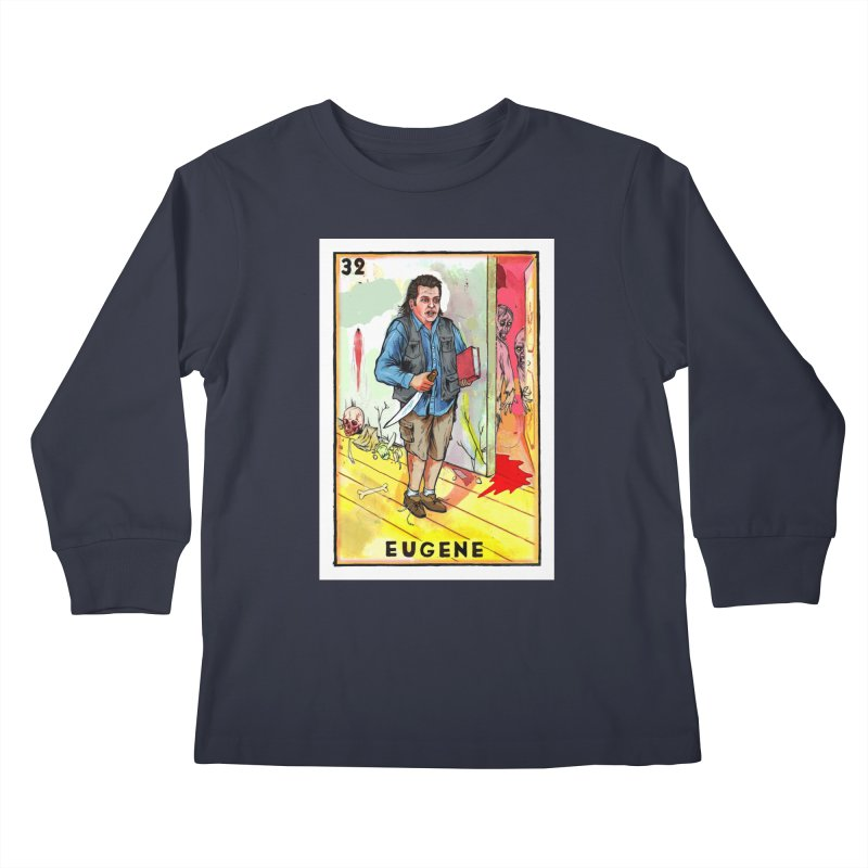 Eugene Kids Longsleeve T-Shirt by Miguel Valenzuela