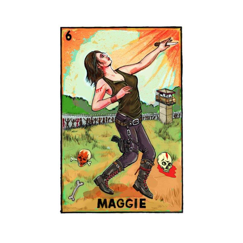 Maggie Women's V-Neck by Miguel Valenzuela