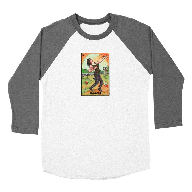 Maggie Women's Longsleeve T-Shirt by Miguel Valenzuela