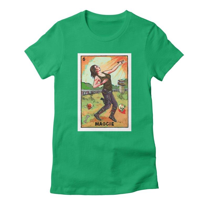 Maggie Women's T-Shirt by Miguel Valenzuela