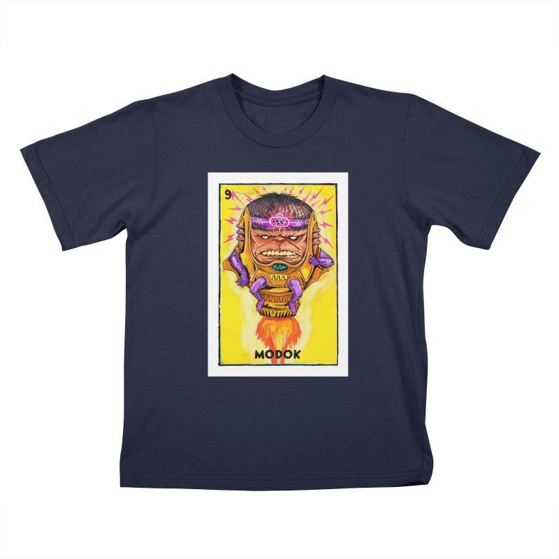 MODOK Kids T-Shirt by Miguel Valenzuela