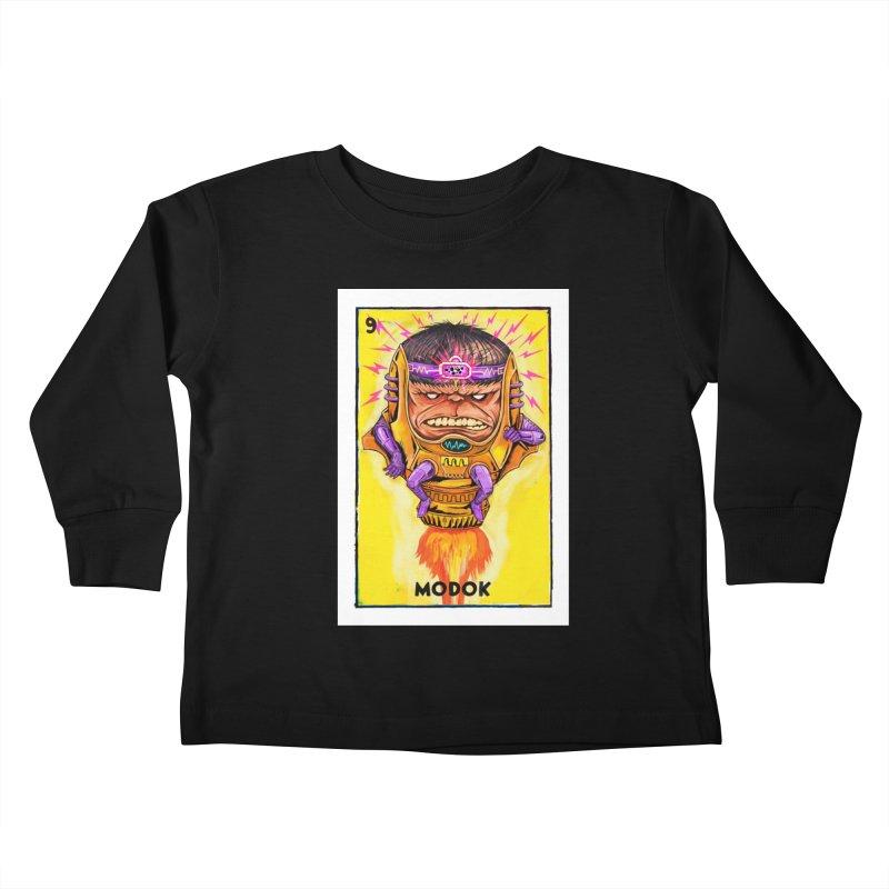 MODOK Kids Toddler Longsleeve T-Shirt by Miguel Valenzuela