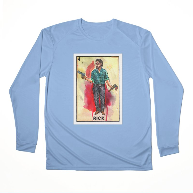 Rick Grimes Women's Longsleeve T-Shirt by Miguel Valenzuela