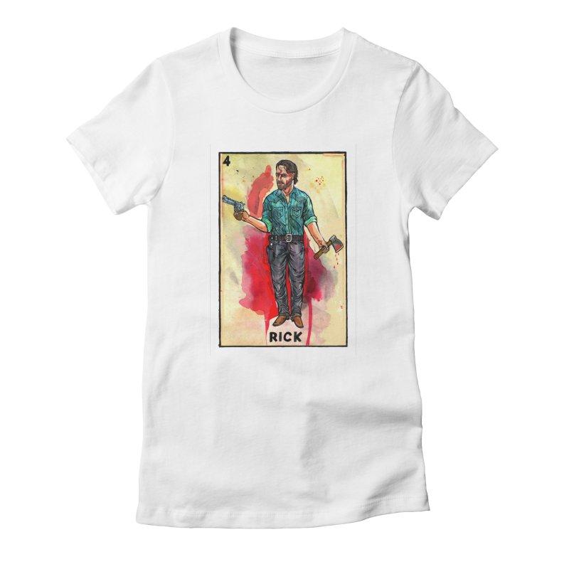 Rick Grimes Women's T-Shirt by Miguel Valenzuela