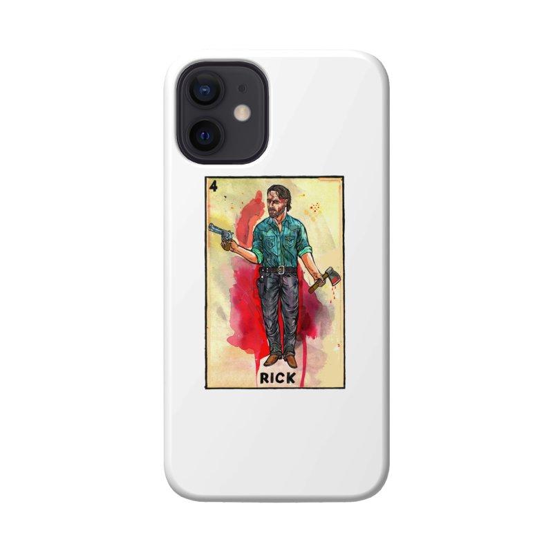 Rick Grimes Accessories Phone Case by Miguel Valenzuela