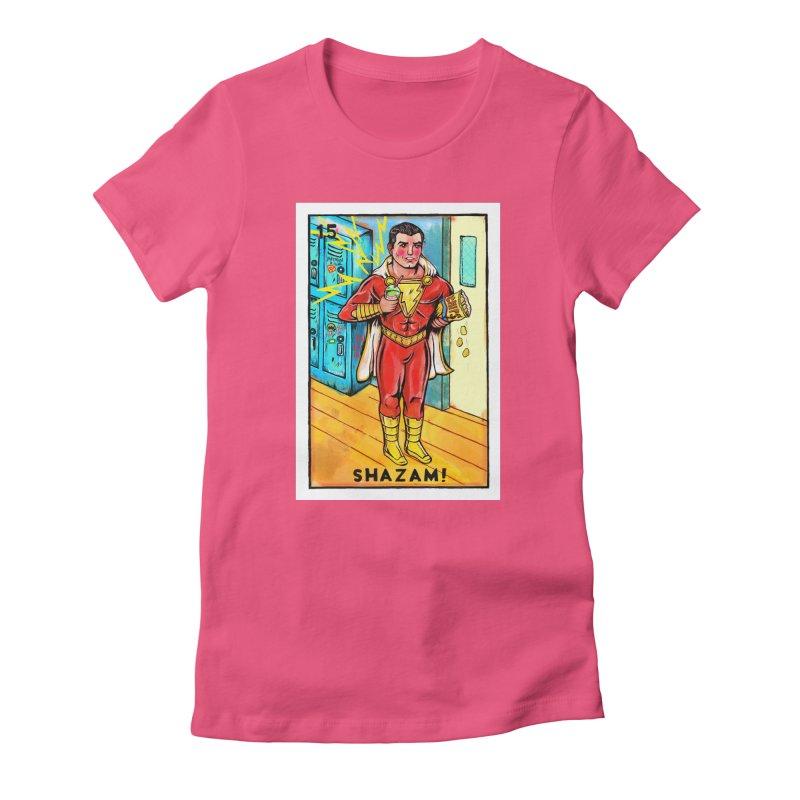 Shazam! Women's T-Shirt by Miguel Valenzuela