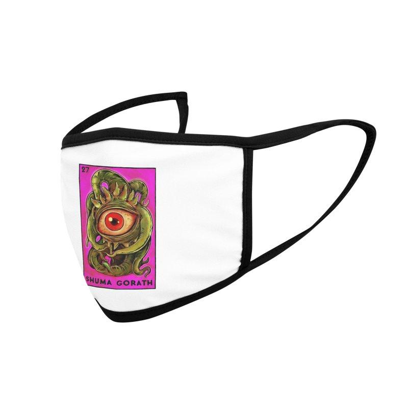 Shuma Gorath Accessories Face Mask by Miguel Valenzuela