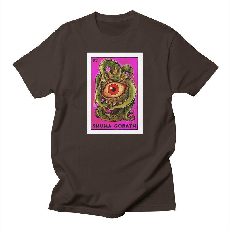 Shuma Gorath Men's T-Shirt by Miguel Valenzuela