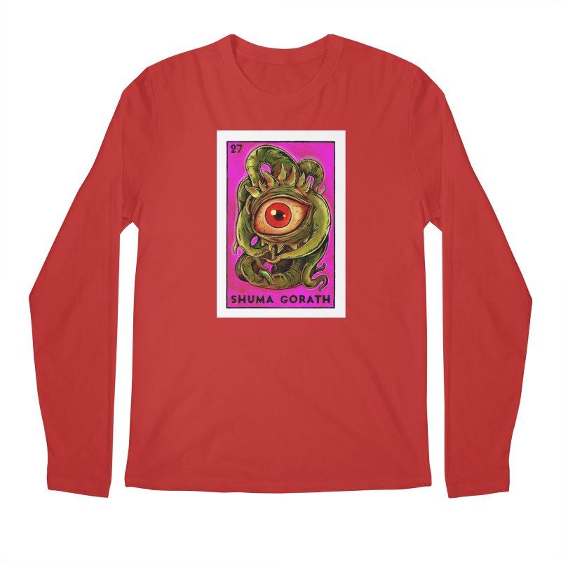 Shuma Gorath Men's Longsleeve T-Shirt by Miguel Valenzuela