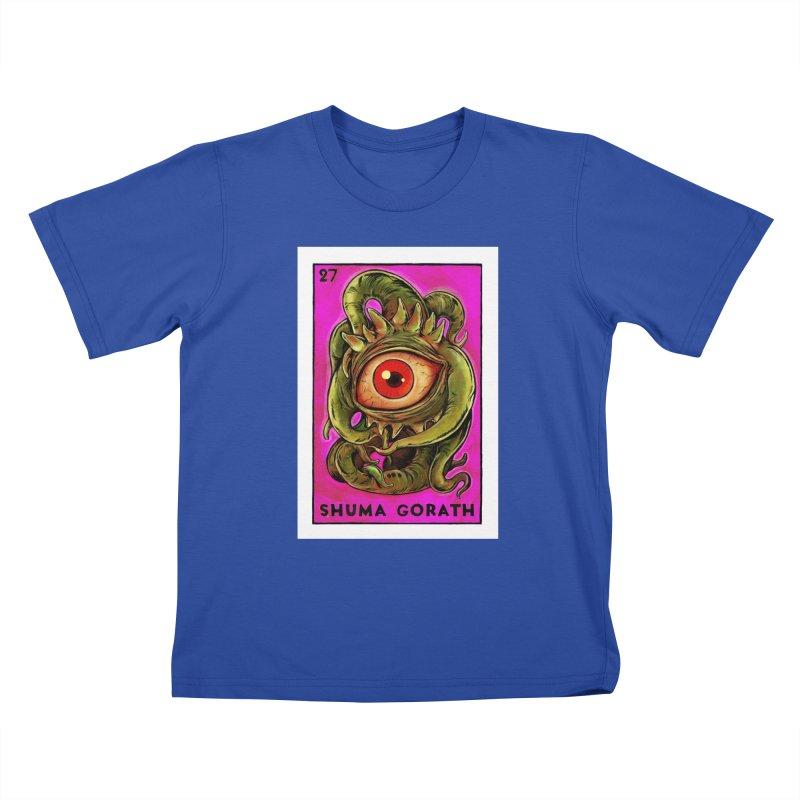 Shuma Gorath Kids T-Shirt by Miguel Valenzuela