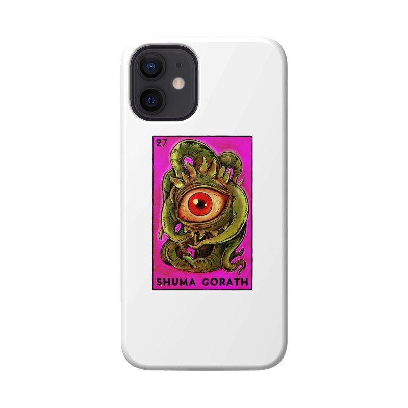 Shuma Gorath Accessories Phone Case by Miguel Valenzuela