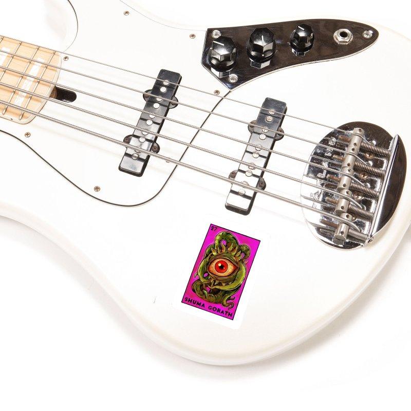 Shuma Gorath Accessories Sticker by Miguel Valenzuela