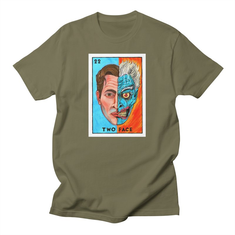 Two Face Men's T-Shirt by Miguel Valenzuela