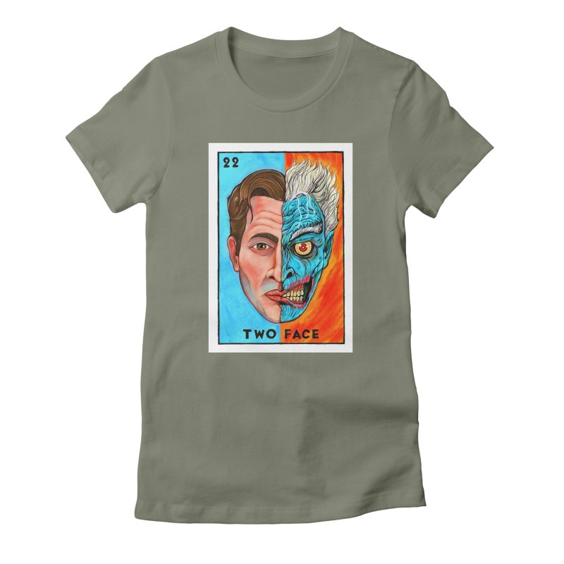 Two Face Women's T-Shirt by Miguel Valenzuela