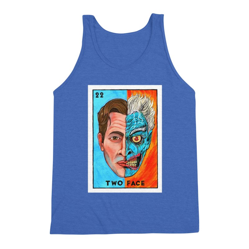 Two Face Men's Tank by Miguel Valenzuela