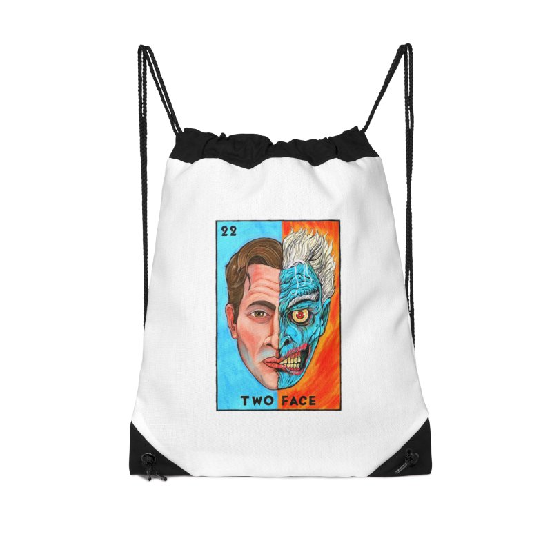 Two Face Accessories Bag by Miguel Valenzuela