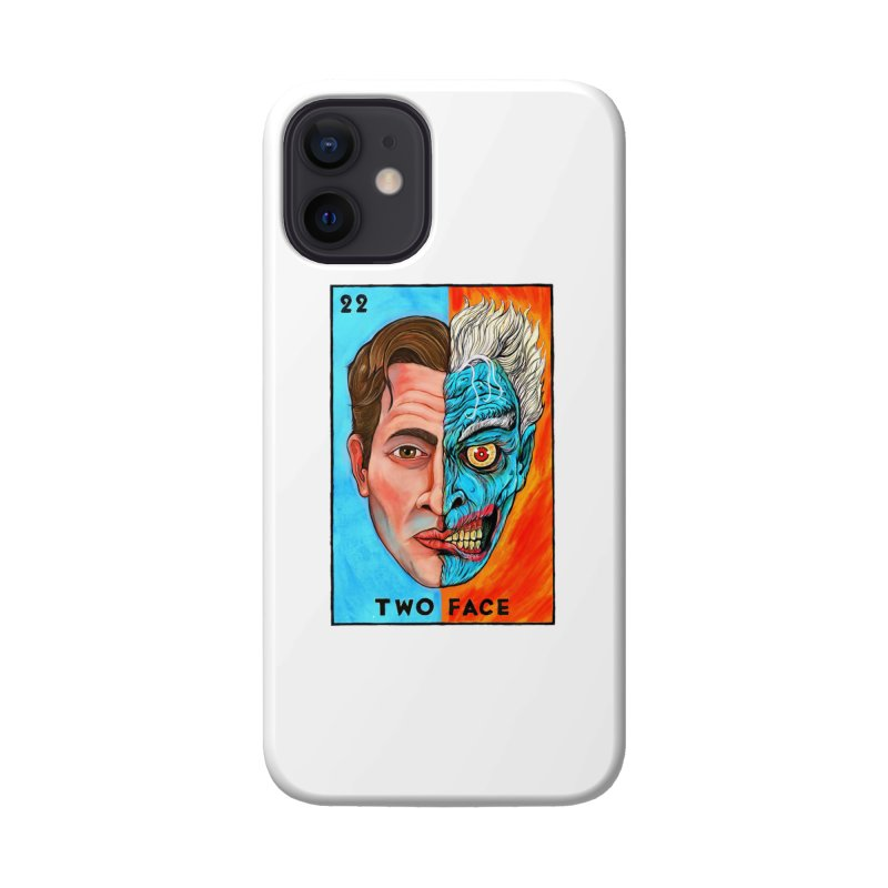 Two Face Accessories Phone Case by Miguel Valenzuela