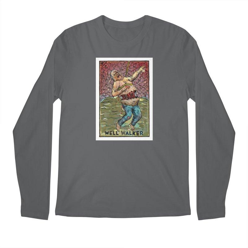 Well Walker Men's Longsleeve T-Shirt by Miguel Valenzuela
