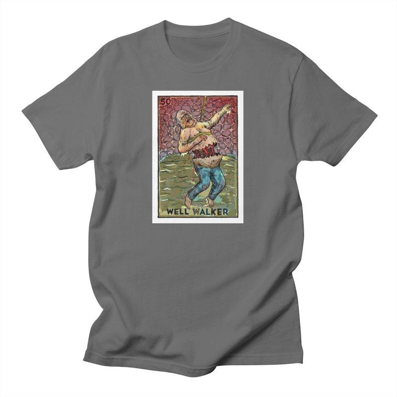 Well Walker Men's T-Shirt by Miguel Valenzuela
