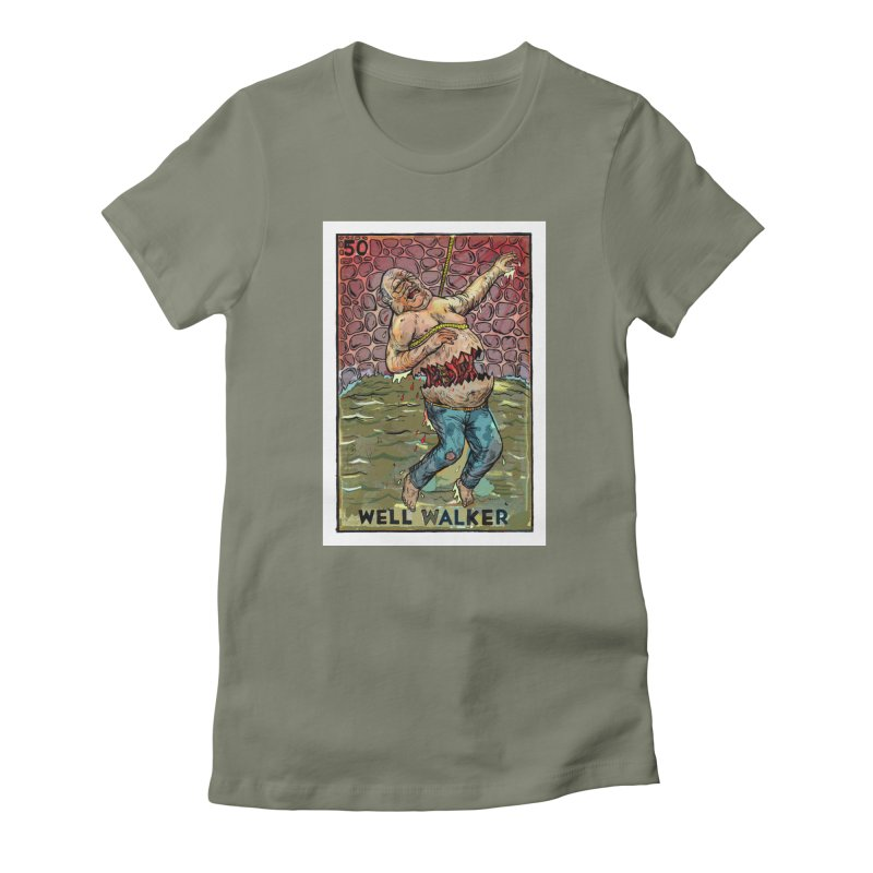 Well Walker Women's T-Shirt by Miguel Valenzuela