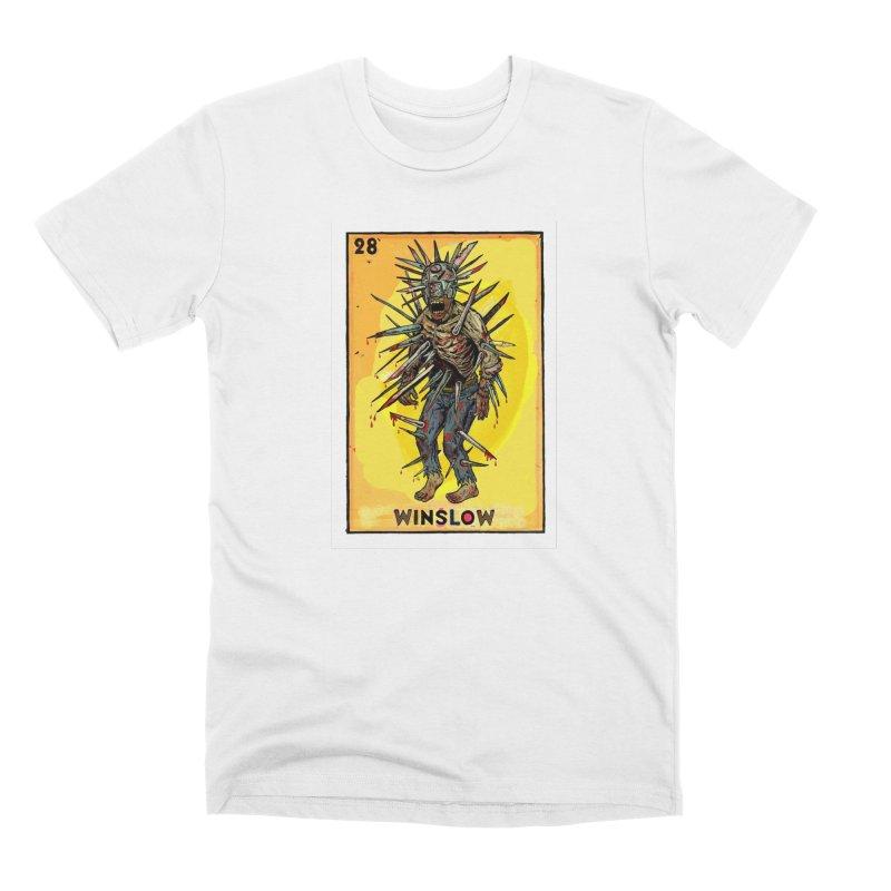 Winslow Men's T-Shirt by Miguel Valenzuela