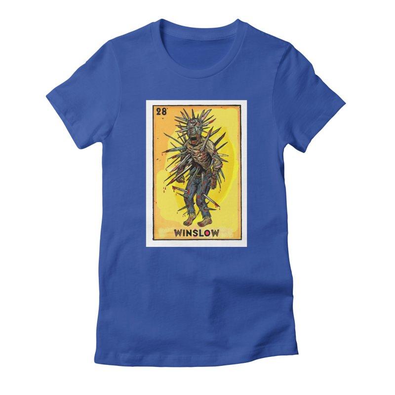 Winslow Women's T-Shirt by Miguel Valenzuela