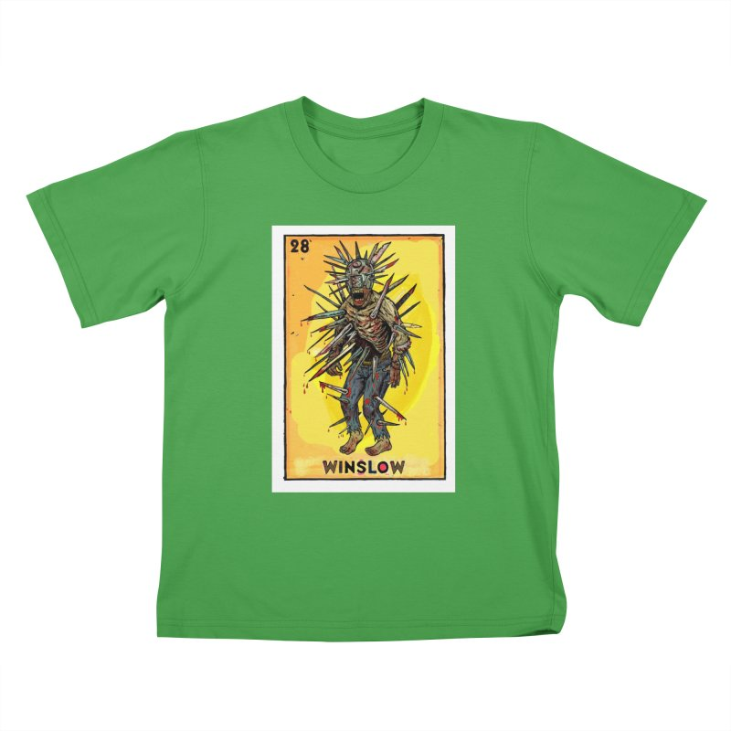 Winslow Kids T-Shirt by Miguel Valenzuela