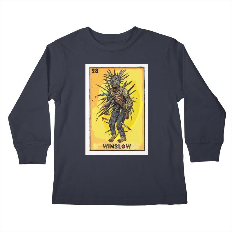 Winslow Kids Longsleeve T-Shirt by Miguel Valenzuela