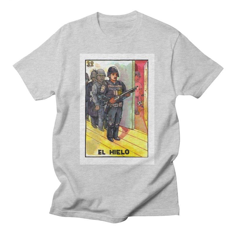 El Hielo Men's T-Shirt by Miguel Valenzuela
