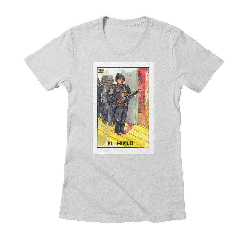 El Hielo Women's T-Shirt by Miguel Valenzuela