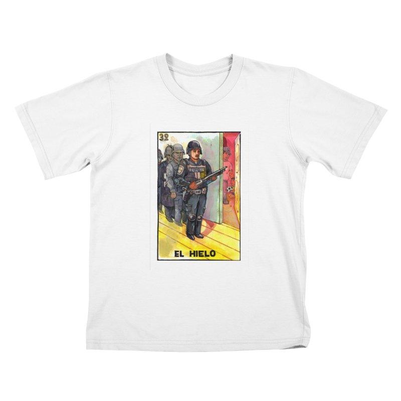 El Hielo Kids T-Shirt by Miguel Valenzuela