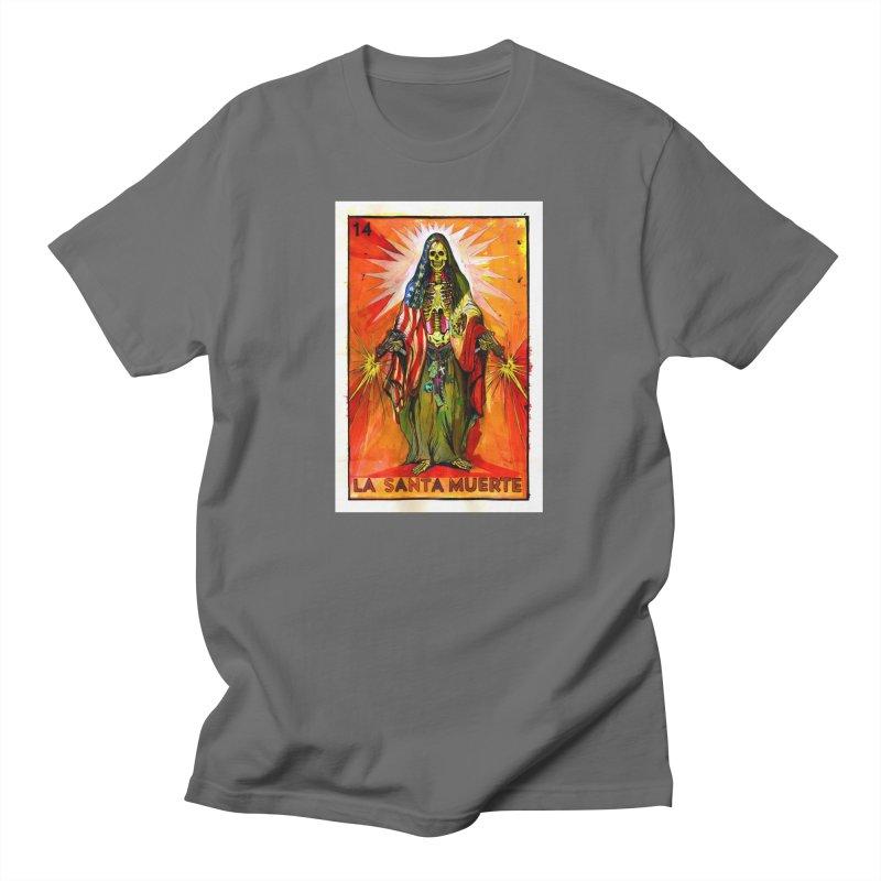 La Santa Muerte Men's T-Shirt by Miguel Valenzuela